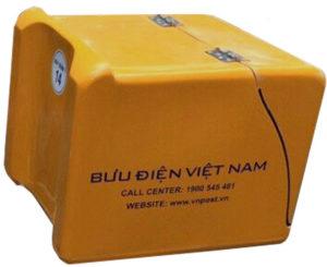 Thùng chở hàng bưu điện MGShip 11