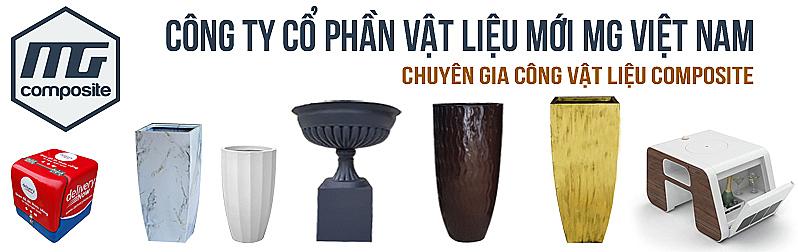 Sản phẩm Composite- Chậu composite MGPOT- Thùng ship- CTCP MGVIETNAM